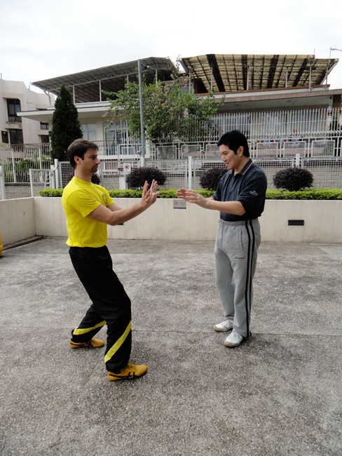 Sifu Cliff  and sifu Sergio