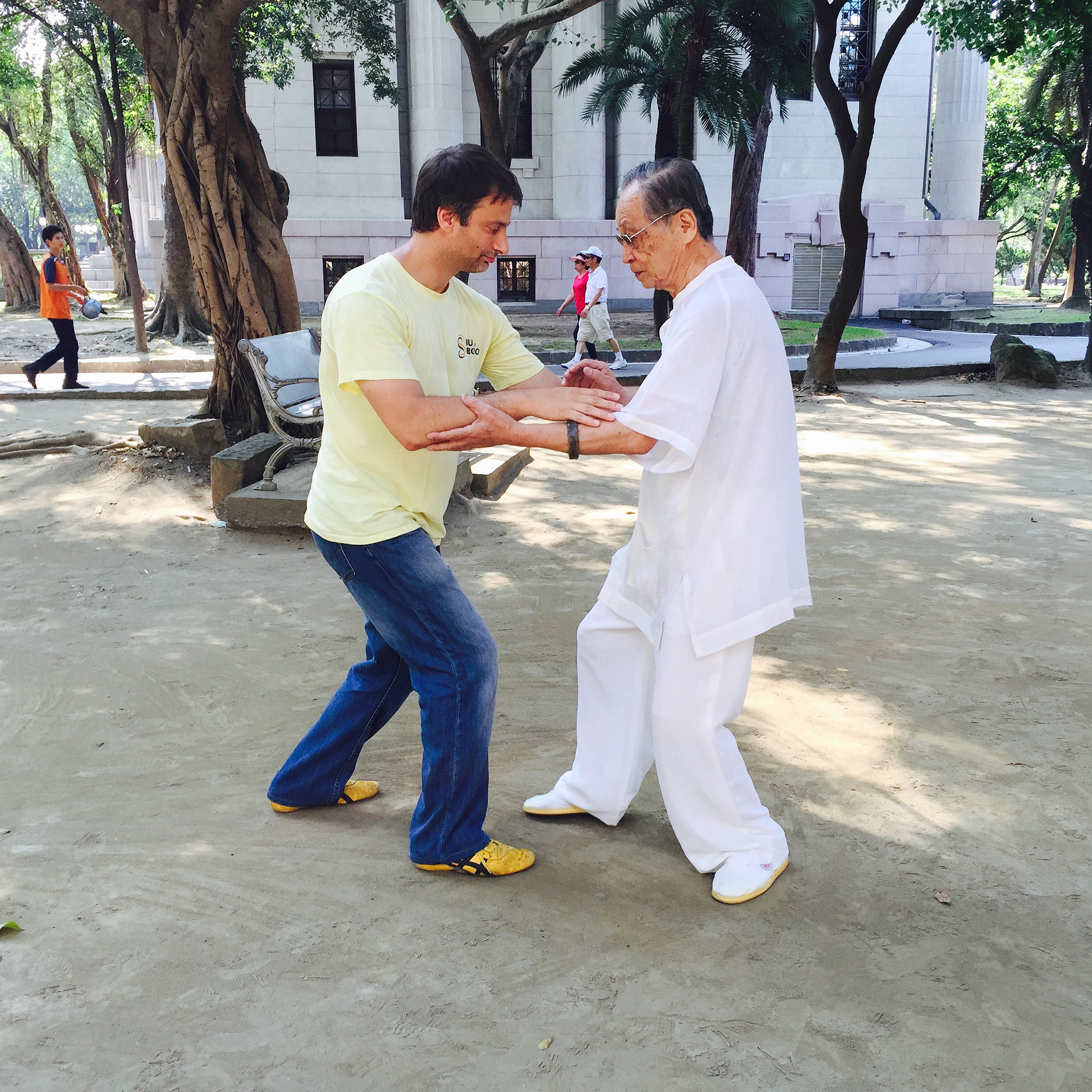 Training with Sifu Song Fa Dong