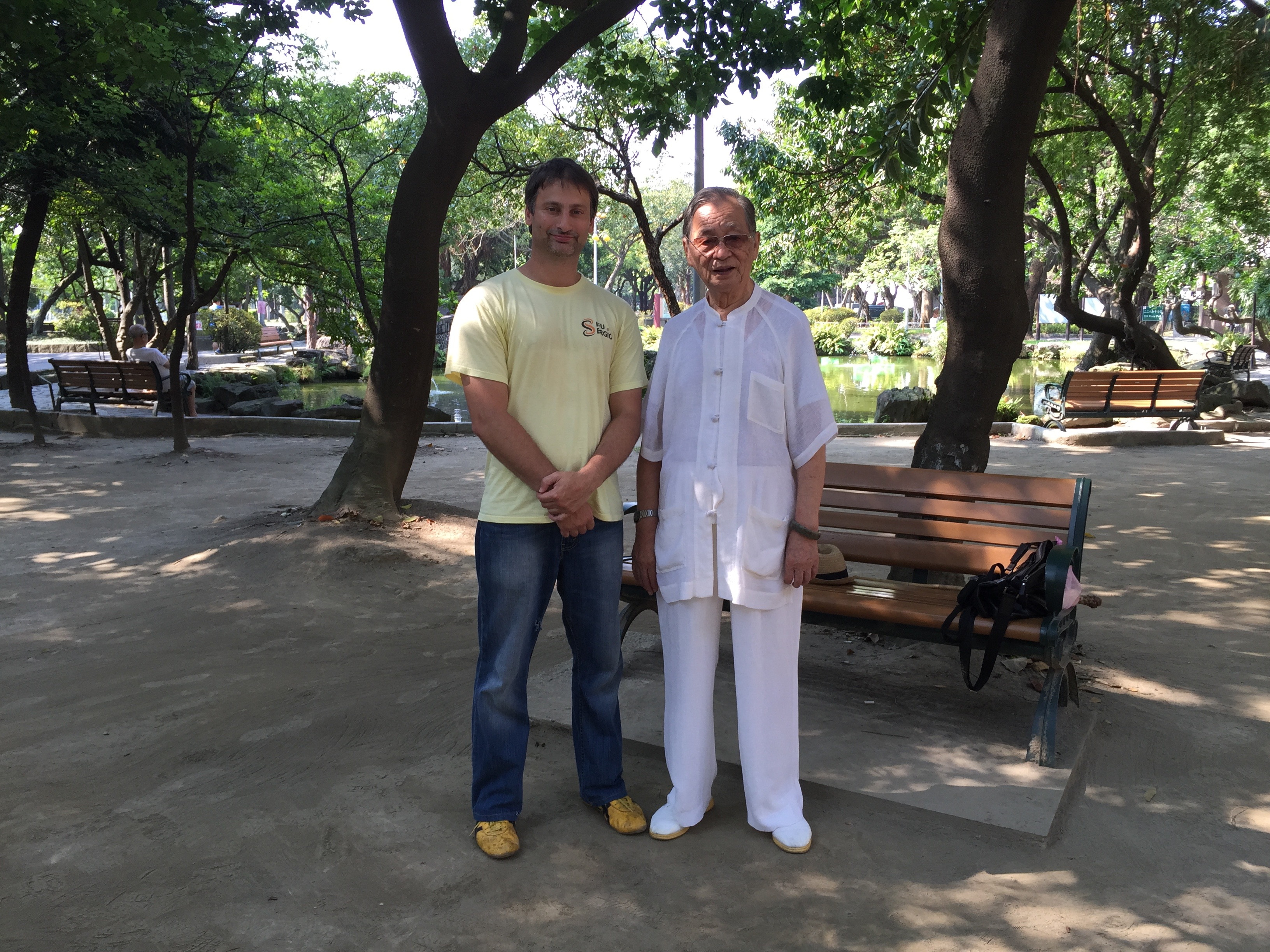 With Sifu Song Fa Dong in Taipei Taiwan