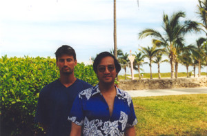 SIFU SERGIO WITH SIFU LEUNG TING USA MIAMI 2001