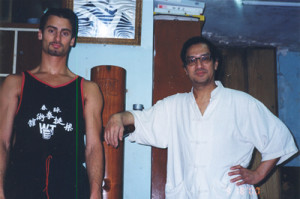 AFTER PRIVATE LESSONS WITH SIFU LEUNG TING HONG KONG 1998 HONG KONG