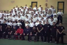 SIFU SERGIO INSTRUCTORS SEMINAR IN NAPLES ITALY 2003