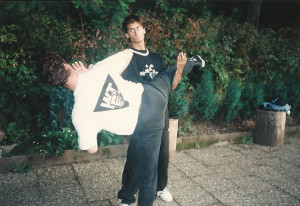 SIFU SERGIO DURING THE BEGINNING OF HIS INSTRUCTOR'S CAREER 1991