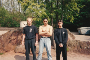 SIFU SERGIO WITH SIFU EMIN BOTZTEPE Around shadow 1994