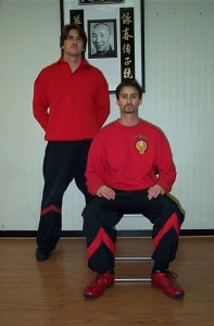 SIFU SERGIO AROUND 2002 AFTER TEACHING SIFU HANS JORG REIMERS