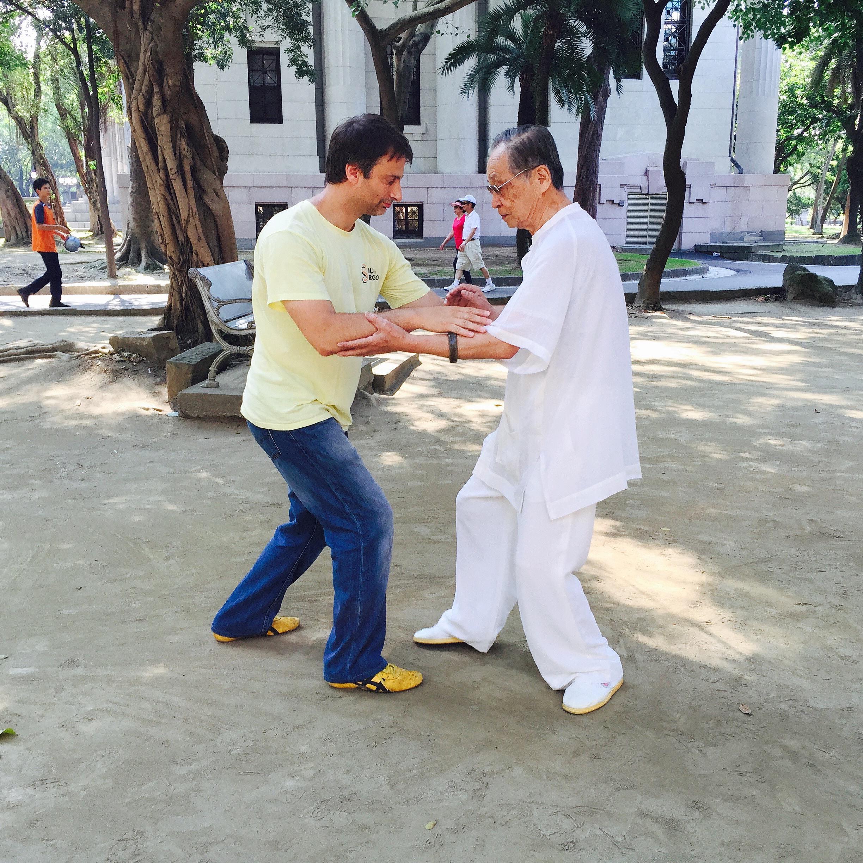 Training with Sifu Song Fa Dong